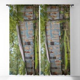 Kymulga Historic Covered Bridge Childersburg Alabama Blackout Curtain