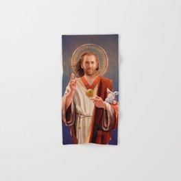 Saint Nicolas of Cage Hand & Bath Towel