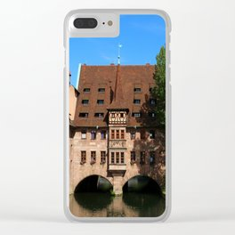 Old Architecture  Nuremberg Clear iPhone Case