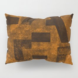 Lager Beer Typography Pillow Sham