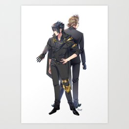 Noctis and Ignis Art Print