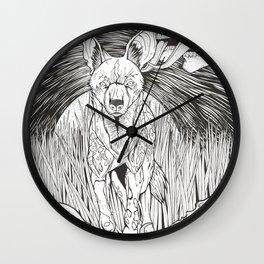 Wildlife/Genocide/Licking skulls  Wall Clock