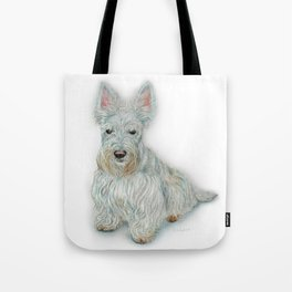 Wheaten Scottish Terrier Tote Bag