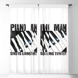 Piano Man Blackout Curtain