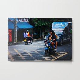 Ayutthaya Transportation Metal Print
