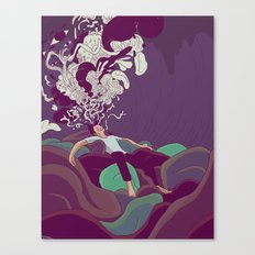 Escapism Canvas Print