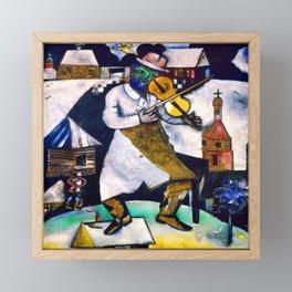 Marc Chagall The Fiddler Framed Mini Art Print