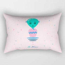 Alien Bubbles Rectangular Pillow