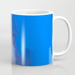Moon Jellies in Blue Space Coffee Mug