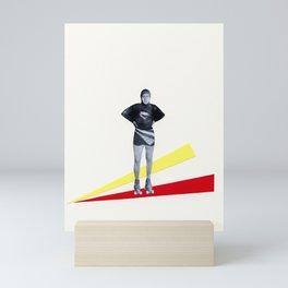 Roller Disco Mini Art Print