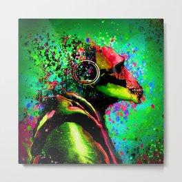 Acid Ape Metal Print