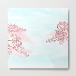 A day for cherry blossom | Miharu Shirahata Metal Print