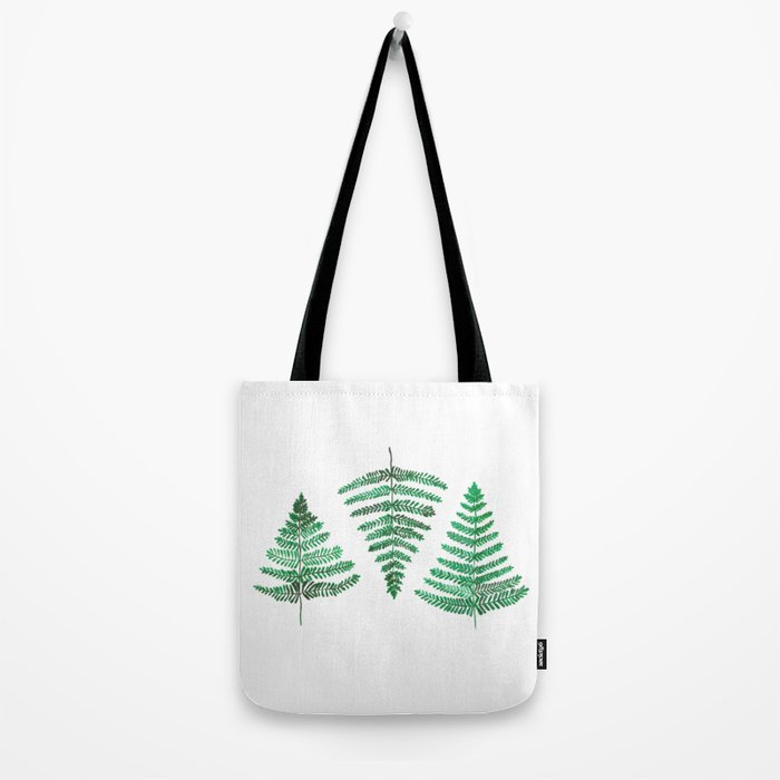 Fiordland Forest Ferns Tote Bag
