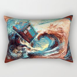 Tardis doctor who at starry night Dark Vortex iPhone 4 4s 5 5c 6, pillow case, mugs and tshirt Rectangular Pillow