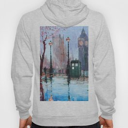 dr who art painting Hoody