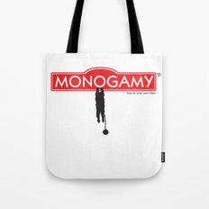 Monogamy Tote Bag