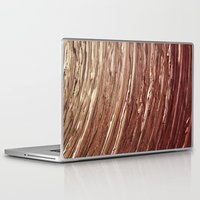 tree rings Laptop & iPad Skins featuring Rings by Kathy Dewar