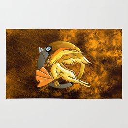Pokegame Yellow Phoenix mockingjay iPhone 4 4s 5 5c, ipod, ipad, tshirt, mugs and pillow case Rug