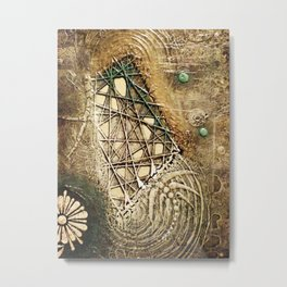 Ancient Past Connection Metal Print