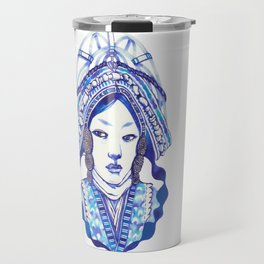Baby Blue #3 Travel Mug