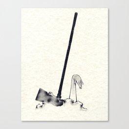 The Hammer Fall Canvas Print