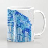 tardis Mugs featuring TARDIS by Redeemed Ink by - Kagan Masters