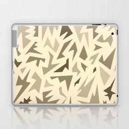 SEPIA JIG JAG Laptop & iPad Skin
