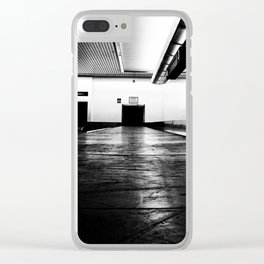 Warning Clear iPhone Case