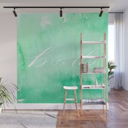 Energizing Breathe Wall Mural