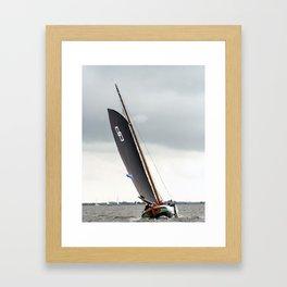 Skutsje Framed Art Print
