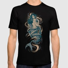 Sirena 2X-LARGE Mens Fitted Tee Black