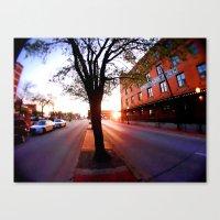dallas Canvas Prints featuring Dallas by LMFK