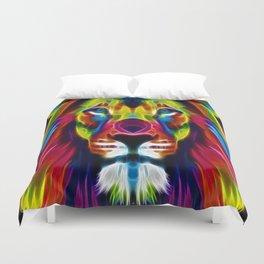 Colourful Lion Duvet Cover