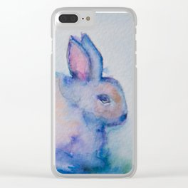 Gertie the Rabbit Clear iPhone Case