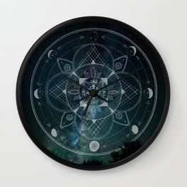 Starcode Wall Clock