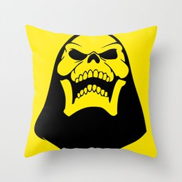 Skeletor. Throw Pillow