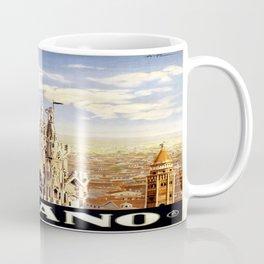 Vintage poster - Milano Coffee Mug