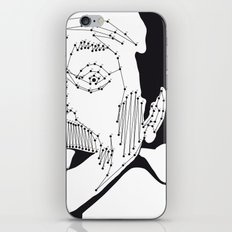Albert Einstein iPhone & iPod Skin