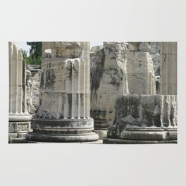Fluted Ionic Columns - Temple of Apollo, Turkey Rug