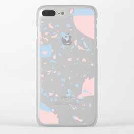 Speckled Party Clear iPhone Case