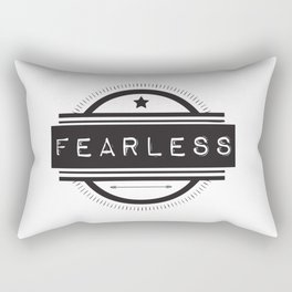 #Fearless Rectangular Pillow