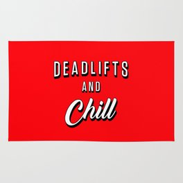 Deadlifts And Chill Rug