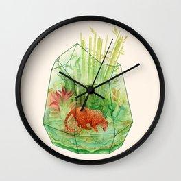 Tigerrarium Wall Clock