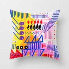 Sinfonia das Cores 1 Throw Pillow