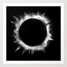 Eclipse 1 Art Print