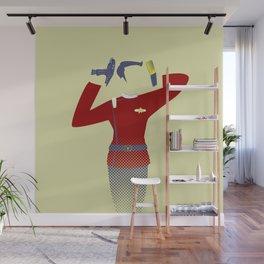 Beam me up Wall Mural