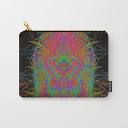 Visionary Flame II (abstract, psychedelic, trippy, psyart, meditation) Carry-All Pouch