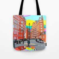 chelsea Tote Bags featuring Chelsea by Emanuele Taglieri