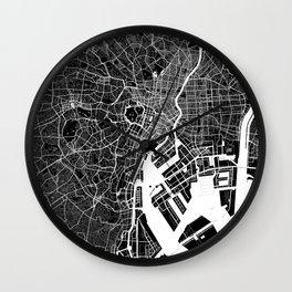 Tokyo - Minimalist City Map Wall Clock
