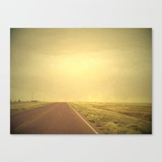 Lonely road 1 Canvas Print